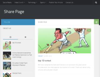 sharepage.in screenshot