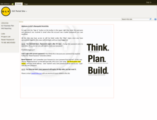 sharepoint.gly.com screenshot
