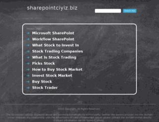 sharepointciyiz.biz screenshot