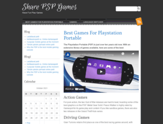 sharepspgames.com screenshot