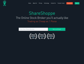 shareshoppe.in screenshot