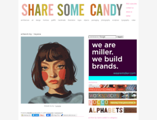 sharesomecandy.com screenshot
