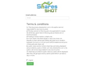sharesshot.com screenshot