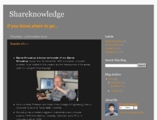 sharethough.blogspot.com screenshot