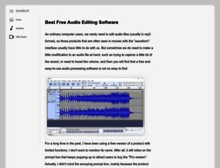 shareup.com screenshot