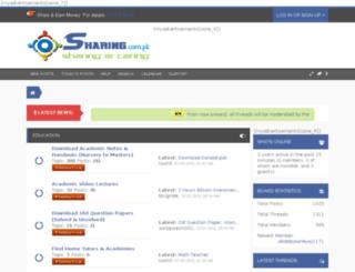 sharing.com.pk screenshot