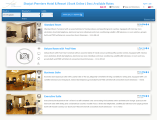 sharjahpremierehotelresort.reservehotel.net screenshot