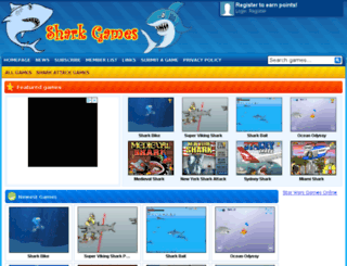 shark-games.net screenshot