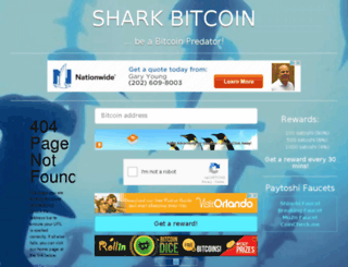sharkbitco.in screenshot