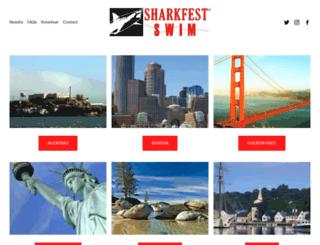 sharkfestswim.com screenshot