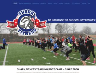 sharkfitness.net screenshot