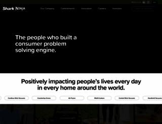 sharkninja.com screenshot
