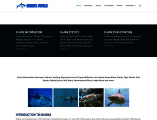 sharks-world.com screenshot