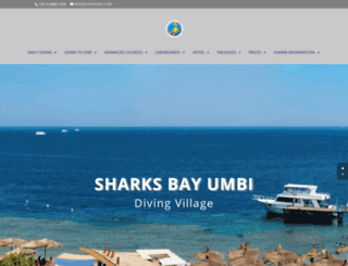 sharksbay.com screenshot