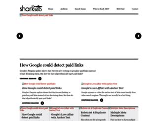 sharkseo.com screenshot
