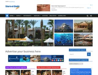 sharm-el-sheikh.com screenshot