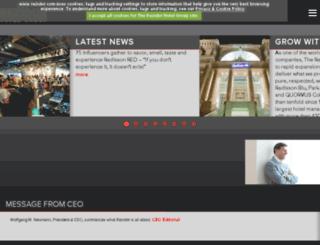 sharm-el-sheikh.radissonsas.com screenshot