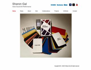 sharon-gal.com screenshot