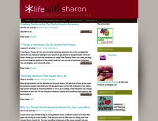 sharonblog.com screenshot