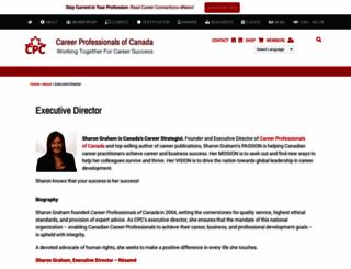 sharongraham.ca screenshot