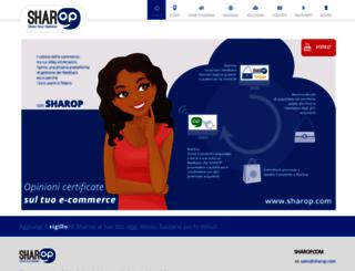 sharop.com screenshot