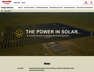 sharp-solar.com screenshot