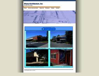 sharparchitecture.com screenshot