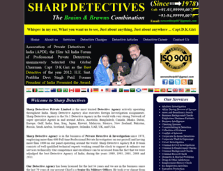 sharpdetectives.com screenshot