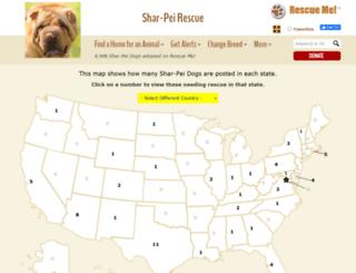 sharpei.rescueme.org screenshot