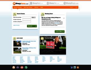 sharphome.com screenshot