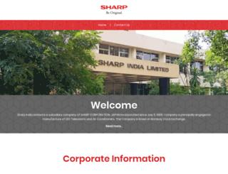 sharpindialimited.com screenshot