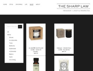 sharplaws.nmrkt.com screenshot