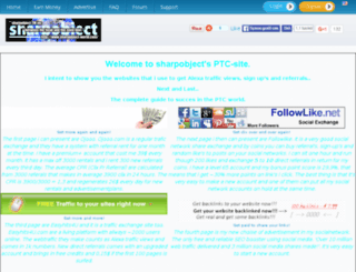 sharpobject-world.com screenshot