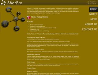 sharpra.com screenshot