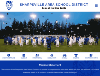 sharpsville.k12.pa.us screenshot