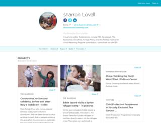 sharronlovell.contently.com screenshot