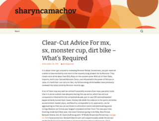 sharyncamachov.wordpress.com screenshot