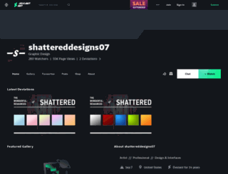 shattereddesigns07.deviantart.com screenshot