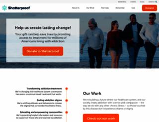 shatterproof.org screenshot