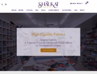 shaukat.co.uk screenshot