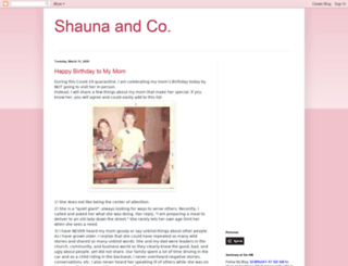 shauna-naner.blogspot.com screenshot
