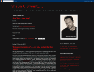 shauncbryant.blogspot.com screenshot