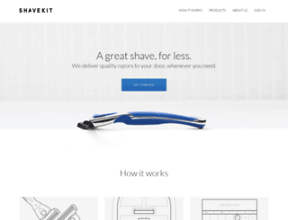 shavekit.com screenshot