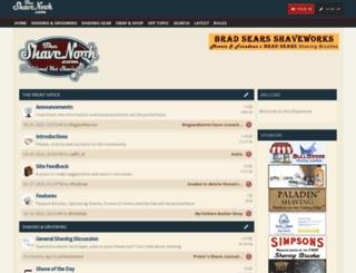 shavenook.com screenshot