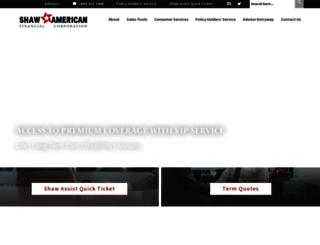 shawamerican.com screenshot