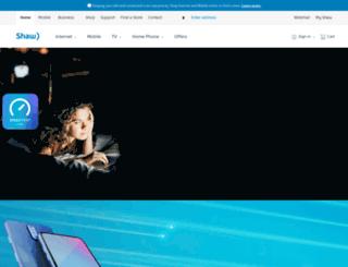 shawconnect.ca screenshot