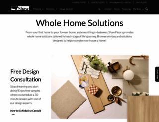 shawfloors.com screenshot