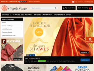 shawlsstore.com screenshot