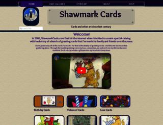 shawmarkcards.com screenshot