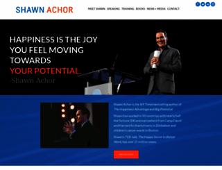 shawnachor.com screenshot